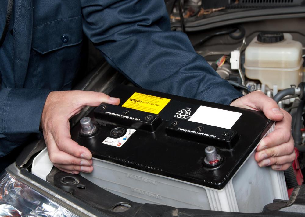 Changing a Car Battery Sandymount